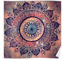 Mandala - spacefire Poster