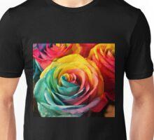 Rainbow Rose Unisex T-Shirt