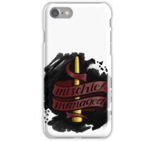 Mischief Managed - Gryffindor Style iPhone Case/Skin