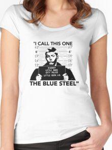 """Dean's """"Blue Steel"""" Women's Fitted Scoop T-Shirt"""
