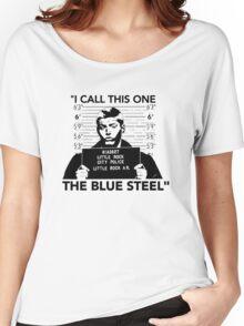"Dean's ""Blue Steel"" Women's Relaxed Fit T-Shirt"