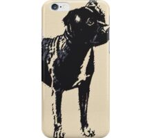Staffordshire Bull Terrier - Conte Style iPhone Case/Skin