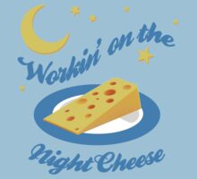 Night Cheese Kids Tee