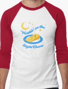 Night Cheese Men's Baseball ¾ T-Shirt