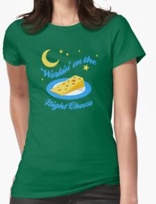 Night Cheese Womens Fitted T-Shirt