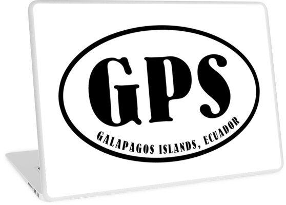 Galapagos Islands airport code (oval) by colinpurrington