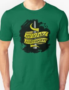 Mischief Managed - Hufflepuff Style Unisex T-Shirt