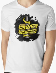 Mischief Managed - Hufflepuff Style Mens V-Neck T-Shirt