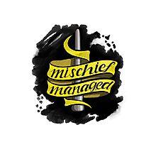 Mischief Managed - Hufflepuff Style Photographic Print
