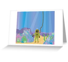 Hidden Treasure of the Deep Greeting Card