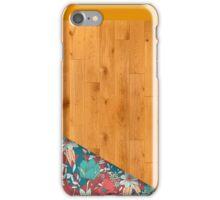 Wood v Flower iPhone Case/Skin