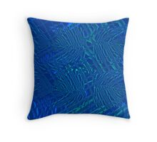 Fish Tank Throw Pillow