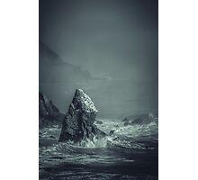 Last Rock Standing Photographic Print