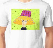 1960's Flowere Pot Hat Unisex T-Shirt