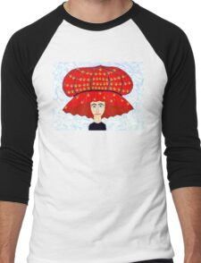 20th Century English Boudoir Hat Men's Baseball ¾ T-Shirt