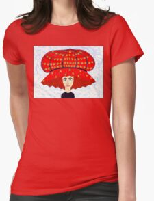 20th Century English Boudoir Hat Womens Fitted T-Shirt