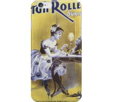 Performing Arts Posters Deveres High Rollers Burlesque Co 2846 iPhone Case/Skin