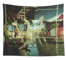 Carousel and Sea Wall Tapestry