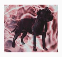 Staffordshire Bull Terrier - Pink Smoke Kids Clothes