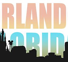 Orlando Florida Happiest City In The USA by CafePretzel