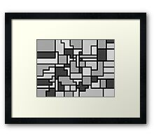 Colorado - black and white Framed Print