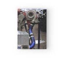 twin turbo setup Hardcover Journal