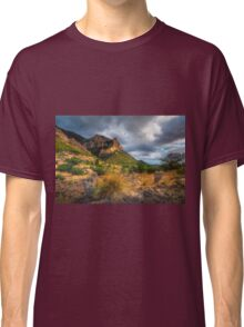 Stormy skies and the mountain Classic T-Shirt