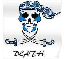 Cool Death Skull Poster