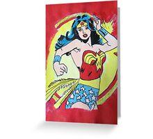 Wonderwoman Greeting Card