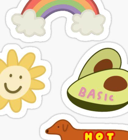 Snapchat Stickers Tri Pack Sticker