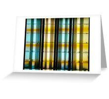 Fluorescent lights reflection  Greeting Card