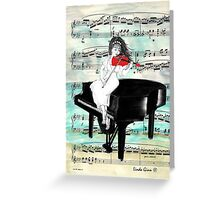 The Red Violin Greeting Card