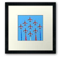 Red Arrows - 50th Display Season Framed Print