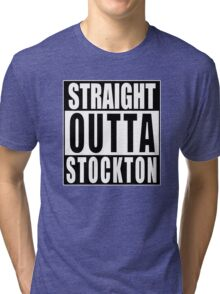 Nate Diaz Nick Diaz, Straight Outta Stockton Tri-blend T-Shirt