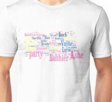 Final Fantasy XII Word Cloud Unisex T-Shirt