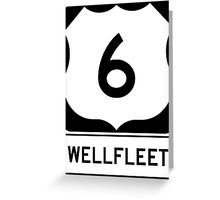 US 6 - Wellfleet Massachusetts Greeting Card