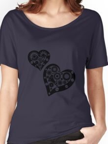 Steampunk hearts Women's Relaxed Fit T-Shirt