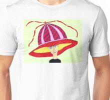 1970's English Summer Hat Unisex T-Shirt