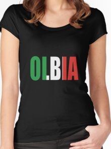 Olbia. Women's Fitted Scoop T-Shirt