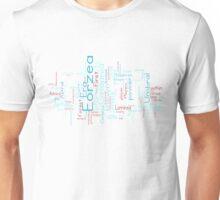 Final Fantasy XIV Word Cloud Unisex T-Shirt