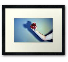 I've Got Your Heart in My Hand Framed Print