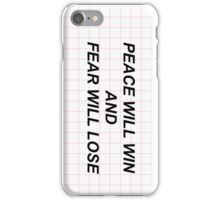 car radio - twenty one pilots lyrics iPhone Case/Skin