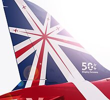 Red Arrows - 50th Display Season by mudandcustard