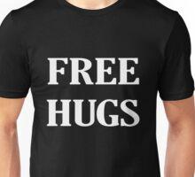 FREE HUGS BLACK AND WHITE Unisex T-Shirt
