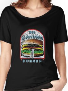 "Big ""KAHUNA"" Burger - Distressed Variant Women's Relaxed Fit T-Shirt"