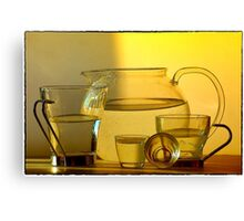 Still life in afterglow Canvas Print