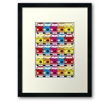 Campervan Multi Abstract No.1 Framed Print