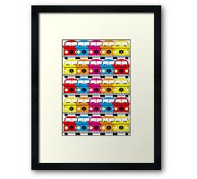 Campervan Multi Abstract No.1 Framed Print