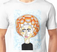 14th Century Italian Escoffion Unisex T-Shirt