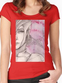 Delicate Metal #5 Women's Fitted Scoop T-Shirt